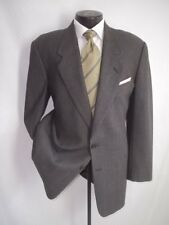 Giorgio Armani Gray Plaid 2 Buttons Wool Jacket, Coat 42 R