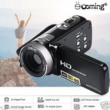 "Full 1080P 24MP Digital Video Camcorder Camera DV 3""LCD 16X Zoom IR Night Vision"