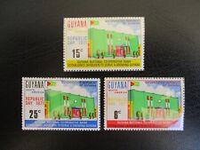 Guyana #122-24 Mint Never Hinged (G7F5) I Combine Shipping!