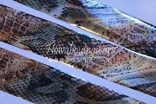"""""""Reptile""""  Transfer Nail Foil - 1 Meter"""