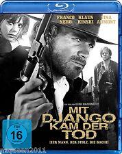 Mit Django kam der Tod [Blu-ray] Franco Nero,  Klaus Kinski * NEU & OVP *