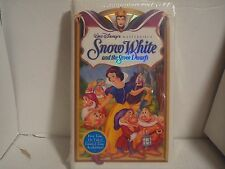 Snow White And The Seven Dwarfs ( Walt Disney's Masterpiece Collection ) NEW VHS
