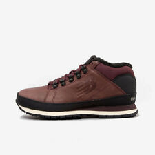 NEW BALANCE HL754BB BURGUNDY BLACK WHITE LEATHER WINTER BOOT WARM HIKING SHOES