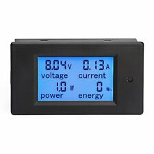 Battery Monitor Current Volt Meter Power Energy Multimeter Dc Amp Tester Gauge