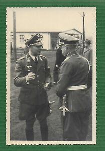 Foto Portrait Soldaten Luftwaffe - Luftwaffenschwert - WK2 - Postkartengröße -