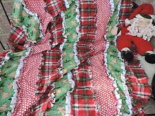 Winter~Christmas-Ginger Bread Man~ Rag Quilt