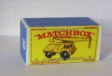 Repro Box Matchbox 1:75 Nr.11 Jumbo Crane