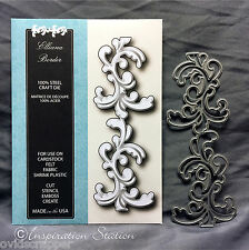 ELLIANA BORDER die Memory Box metal Dies 99344 scrolls,swirls,wedding