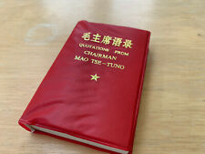 More details for quotations from chairman mao (little red book) - in chinese and english