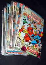LOTE DE COMICS justice league of america 1980-1986-62 numeros