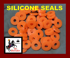 Silicone Seals Qty: 60 replacement Grolsch type swing flip top bottles Home Brew