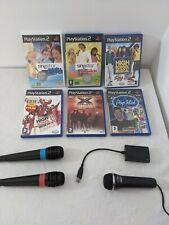 Singstar Sony Playstation 2 ps2 Disney Mikrofon mit Spiele Familie Spaß Weihnachten