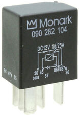 MONARK 12 V / 15 A / 25 A micro changeover relay with switch- off diode