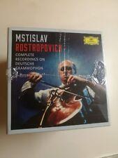 ROSTROPOVICH Complete Recordings on Deutsche Grammophon 37CD BOX NEW BNIB