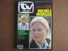 TV JOUR 80/43 (22/10/80) CARY GRANT MICHELE MORGAN JACQUES DUFILHO