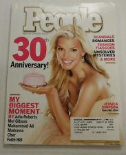 People Magazine Jessica Simpson 30th Anniversary April 2004 101714R2