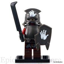 Custom Uruk-hai Saruman's Orc LOTR Minifig fits with Lego pg520 UK Seller Hobbit