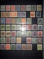 Germany Weimar Republic 1920-1923, High Inflation, Premium Selection, MNH.