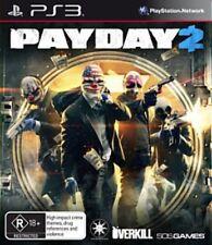 Payday 2 Playstation 3 PS3