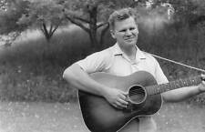 Doc Watson, Clarence White backup guitar Circa 1965, home recording, now a CD