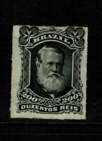 Brazil SC# 73, Mint Hinged, Hinge Remnants, some toning, see notes - S8106
