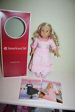 """American Girl Caroline Abbott Book Set Box Meet Outfit 18"""" Accessories"""