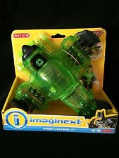 BATMAN GREEN LANTERN JET MOC FISHER PRICE IMAGINEXT GOTHAM CITY SUPER FRIENDS