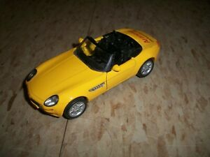 WELLY #9755 BMW Z8 convertible yellow ARANESP Drug promo pull back car