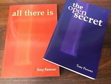 TONY PARSONS The Open Secret and All There Is.Set of 2 Like New