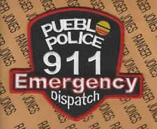 Pueblo Police Department 911 Emergency Dispatch shoulder patch