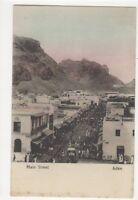 Main Street Aden Vintage Postcard 417a