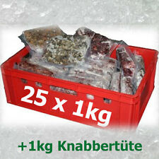 Premium 25kg Barf Komplett Paket Frostfutter Barffleisch Frostfleisch barf