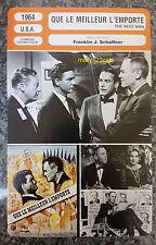 US Political Drama The Best Man Henry Fonda Edie Adams French Film Trade Card