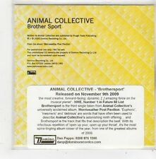 (FQ45) Animal Collective, Brother Sport - 2009 DJ CD