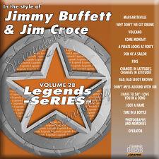 Jimmy Buffett & Jim Croce Karaoke CDG Legends LEG028 VOl.