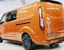 @FORD TRANSIT CUSTOM REAR SPOILER - FULLY PROFESSIONALLY PAINTED - ready to fit@