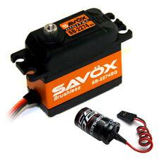 Savox SB-2274SG High Speed Brushless Steel Gear Digital Servo + Glitch Buster