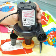 1*Portable AC Electric Air Pump Inflator for Toys Boat Air Bed Mattress Pool SH