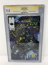 Hall Of Heroes CyberFrog #1 Ethan Van Sciver CyberFrog CGC SS 9.4 1994