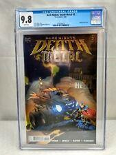 Dark Nights Death Metal #2 & Opens Variant. CGC 9.8 & 9.0 Lot of 2