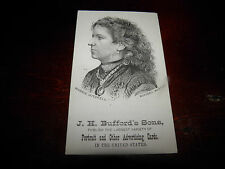 Advertising Card  Photo of Actress And Confederate Sympathizer Maggie Mitchell