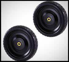 GORILLA CARTS 13 in No Flat Tire Replacement Hand Truck Dump Cart Wheel 2 PACK
