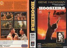 HOOSIERS - Gene Hackman - VHS - PAL - NEW - Never played! - Original Oz release