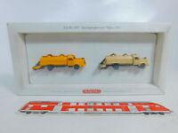 CA140-0,5# Wiking 1:87/H0 649 Sprengwagen Mercedes/MB mit Walze 1961, NEUW+OVP