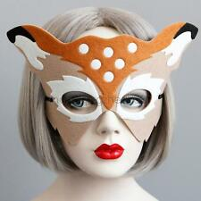 Felt cloth Deer Eye MASK Ribbon Masquerade Party Adult Children Fashion Headwear