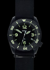 MWC Depthmaster 1000m Water Resistant Military Divers Watch Helium Valve Auto
