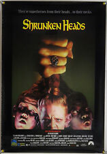 SHRUNKEN HEADS ORIG VHS VIDEO POSTER RICHARD ELFMAN FULL MOON ENT HORROR (1994)