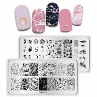 Nail Art Image Stamping Plates Stars Summer Theme Printing Templates Harunouta