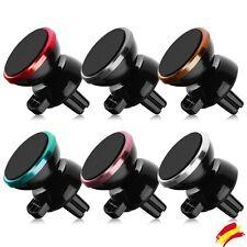 Soporte Magnetico de Rejilla Ventilacion Coche para Smartphone Movil Universal