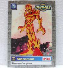 DIGIMON TRADING CARDS - MERAMON 24/34 - CARTE UFFICIALI SERIE TV-1a SERIE